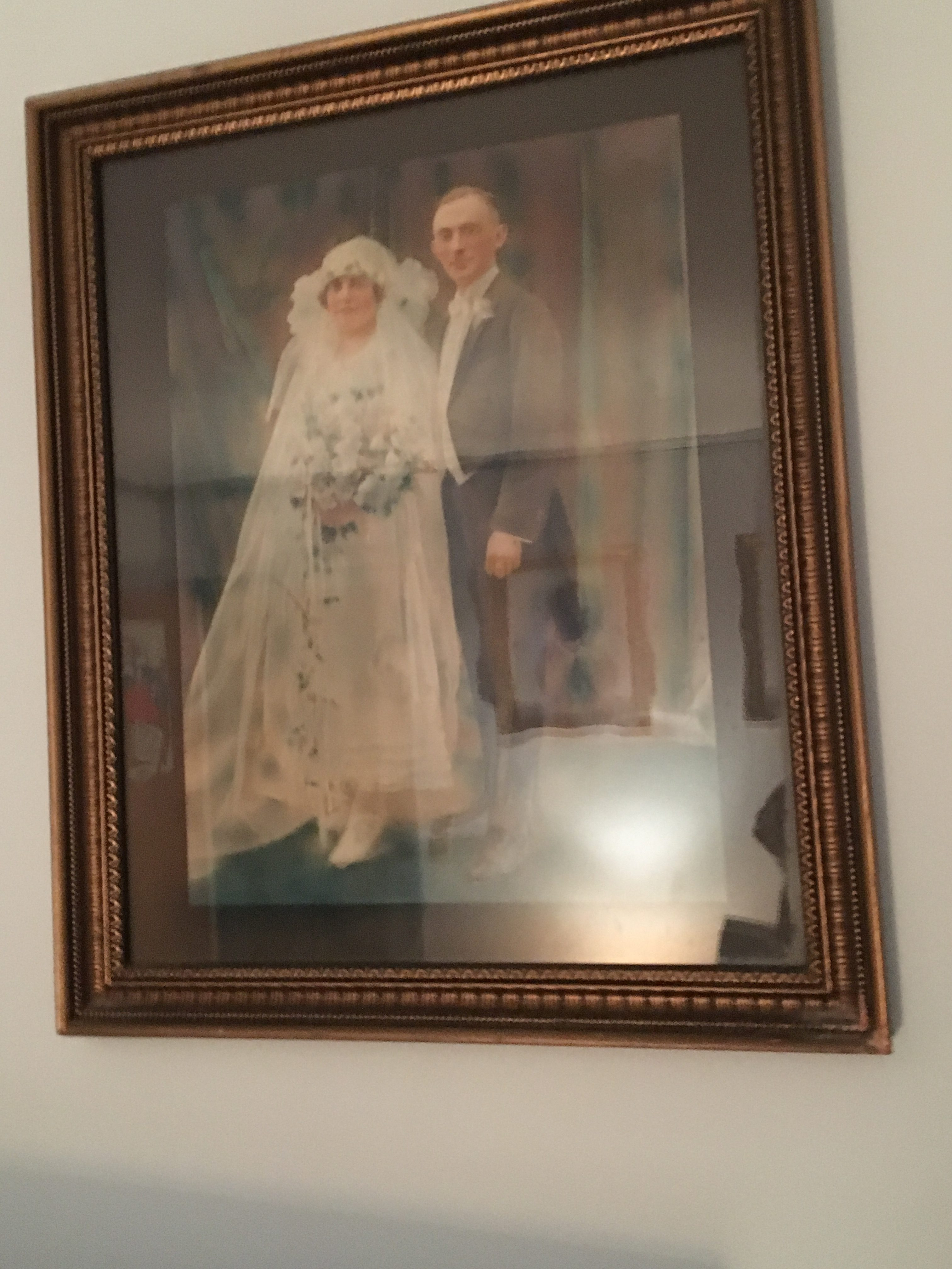 wedding picture from 1924